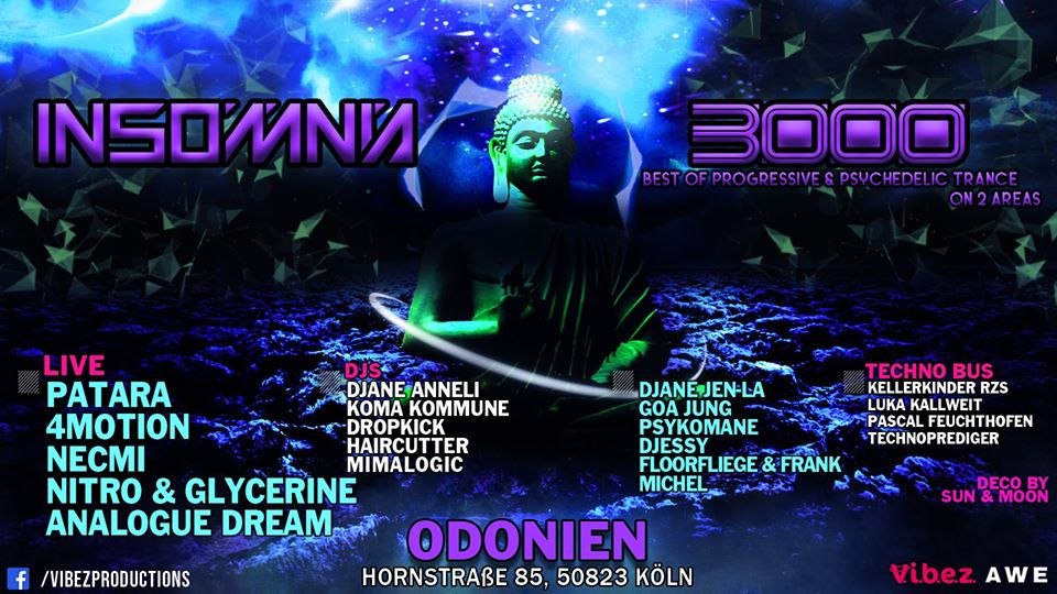 odonien: Insomnia 3000 / Progressive / Psychedelic Trance ...